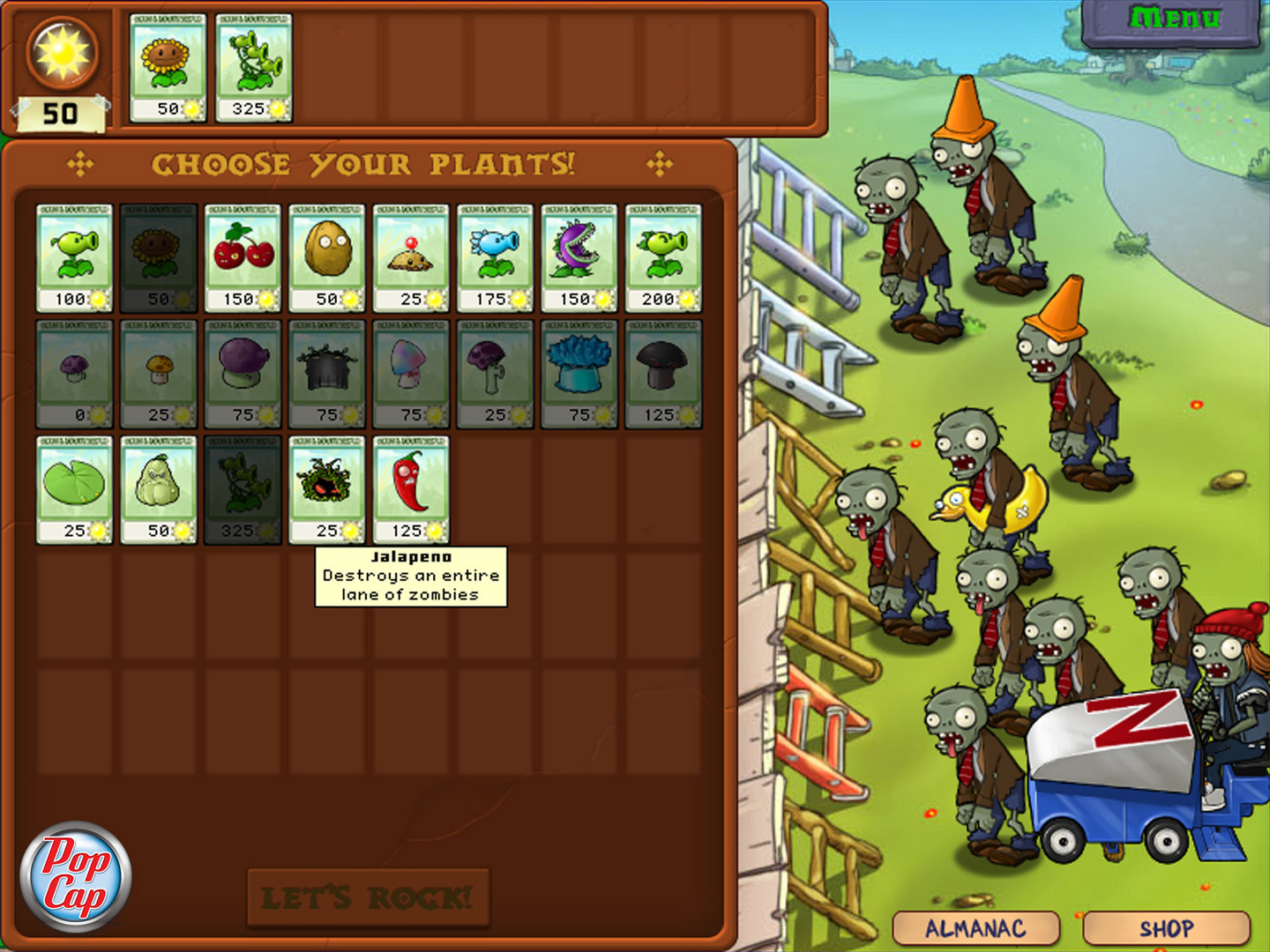 Plants vs zombies 2 растения против зомби 2